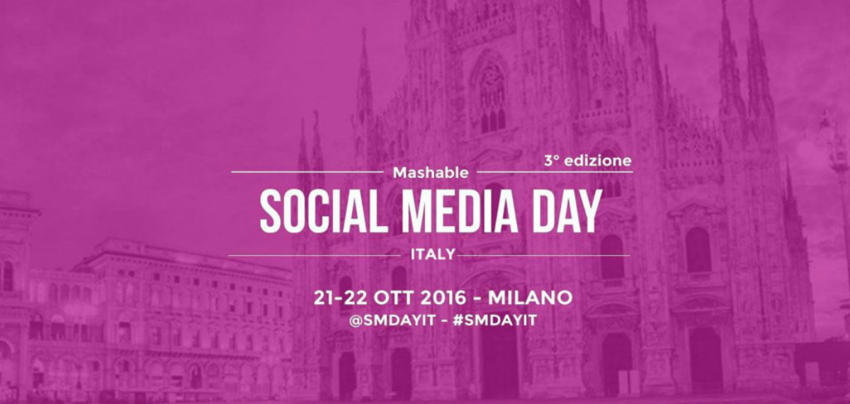 Mashable Social Media Day 2016 |Sconto ed emozioni
