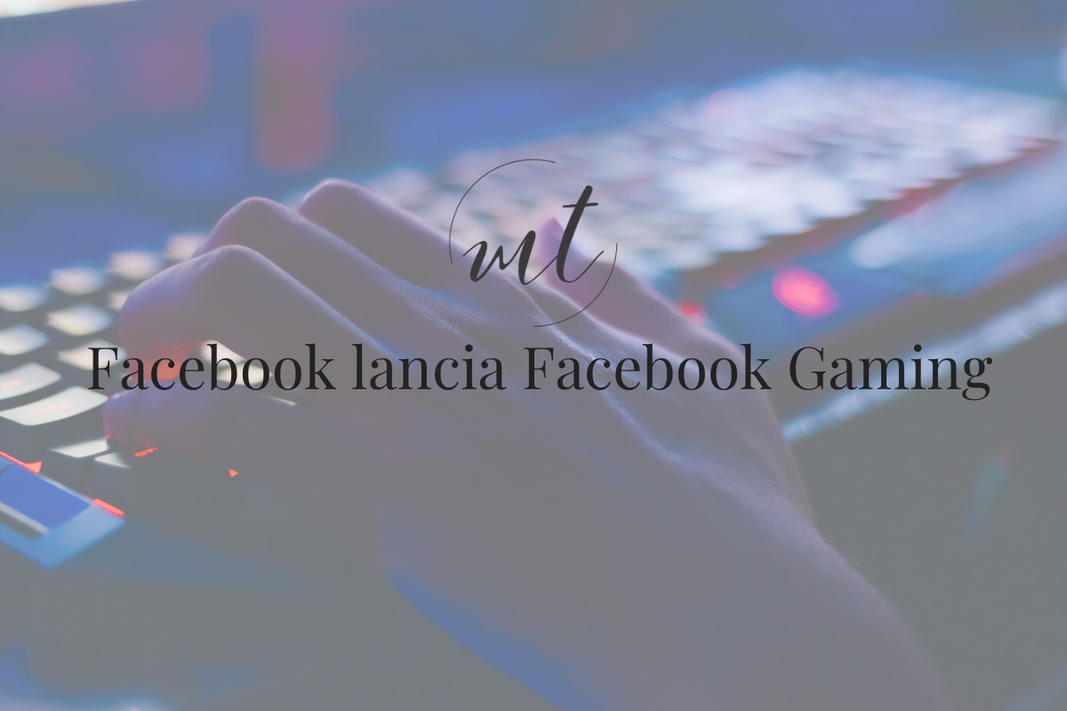 Facebook lancia Facebook Gaming